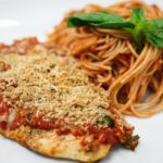 Recipe Rehab Season 1 Recipe How-To: Light Chicken Parmesan With Sausage and Tomato Sauce