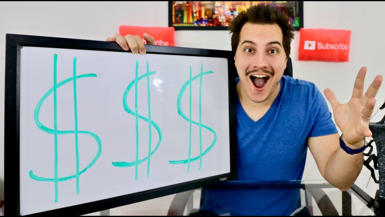 How much MONEY I MAKE from YOUTUBE!