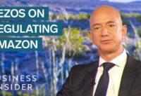 Jeff Bezos On Breaking Up And Regulating Amazon