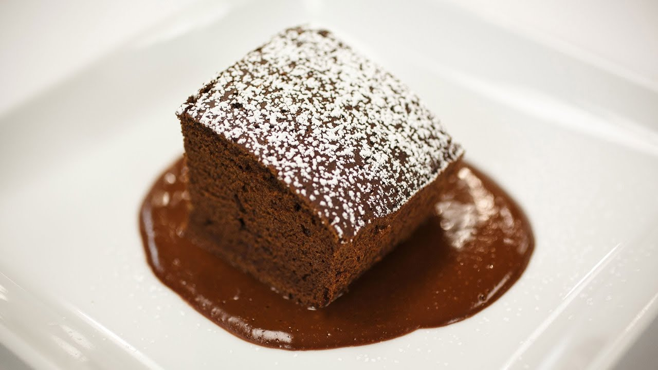 Recipe Rehab Season 1 Recipe How-To: Mocha Brownies With Coffee Sauce