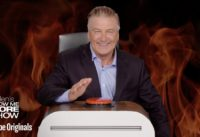 Alec Baldwin Takes On Ellen's Burning Questions