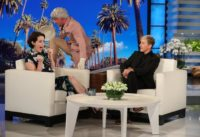 Claire Foy Gets a Scare from the 'Queen'