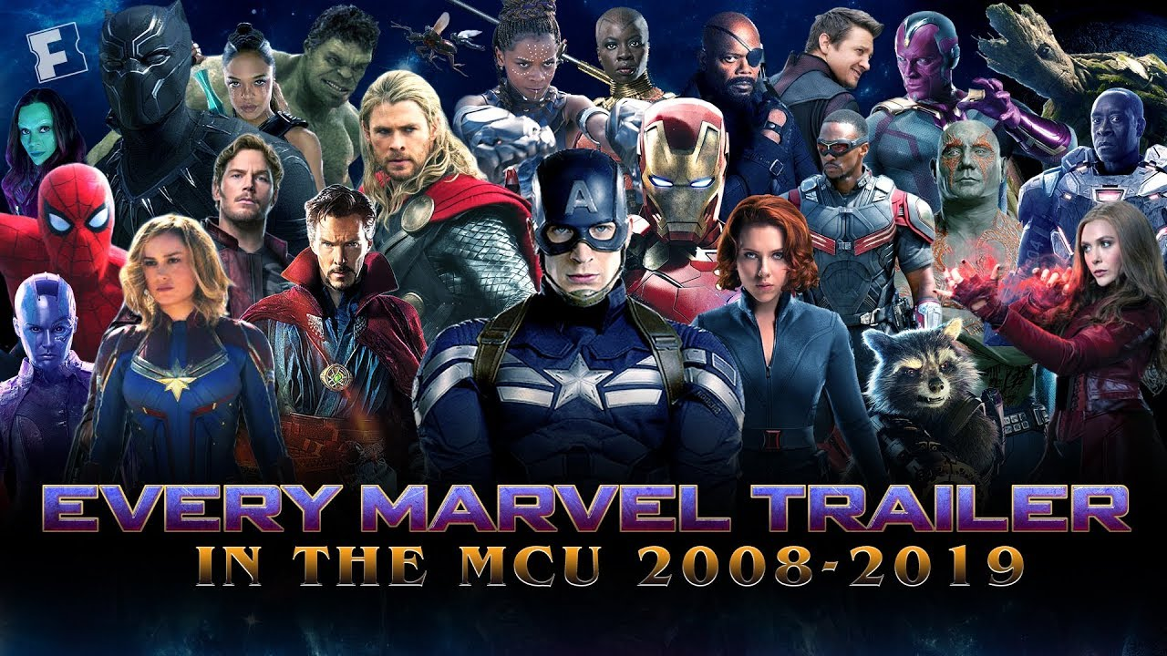 ALL Marvel Cinematic Universe Trailers - Iron Man (2008) to Avengers: Endgame (2019)