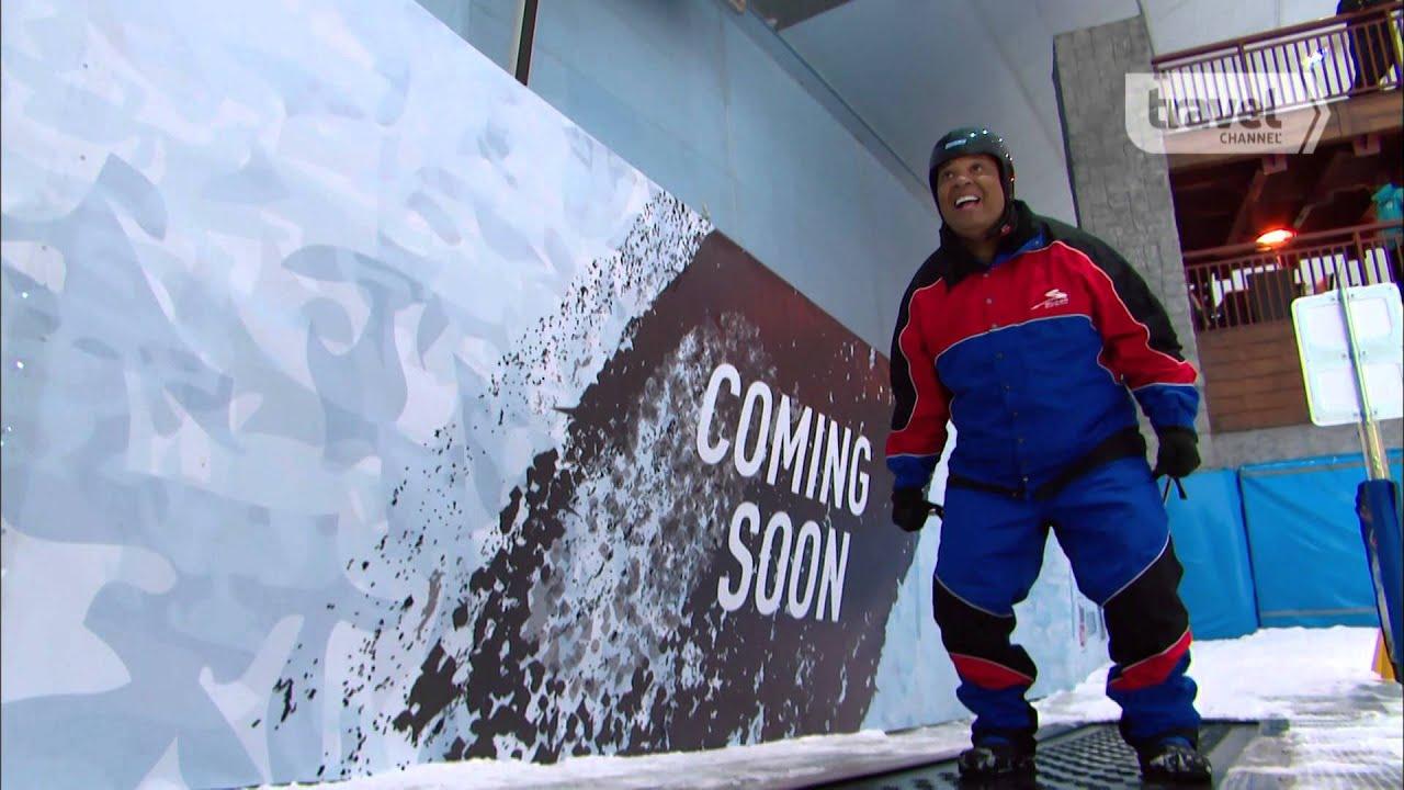 Skiing in 100° Dubai with Rev Run and Family in REV RUNS AROUND THE WORLD