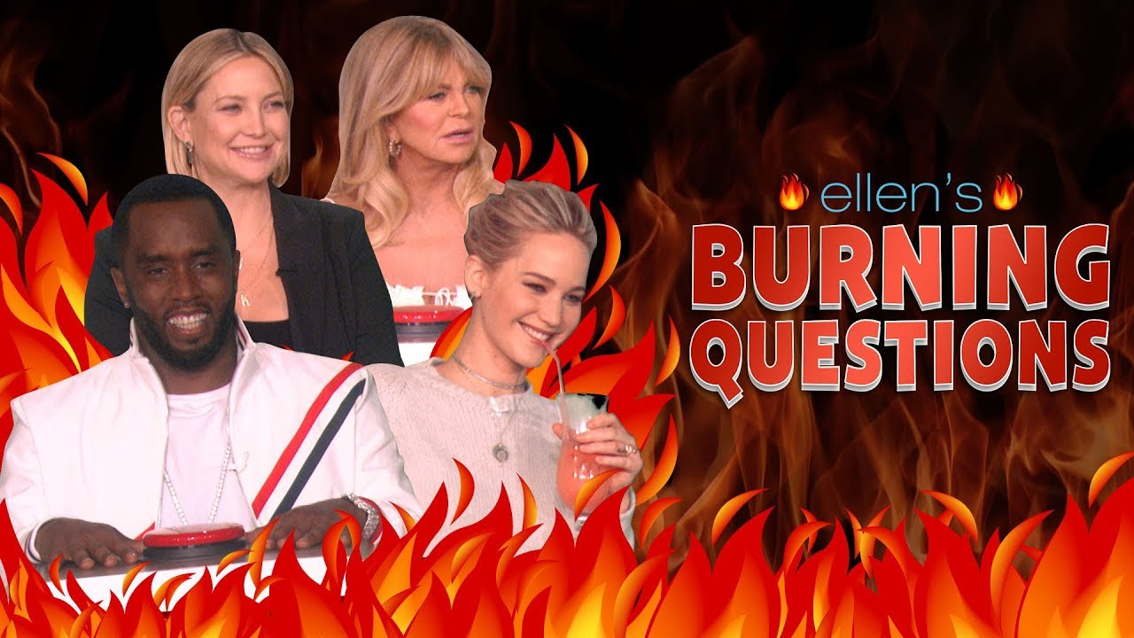The Hottest of Ellen's 'Burning Questions': Part 1