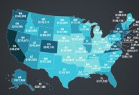 Animated Map Shows Average Mortgage Debt In Every State