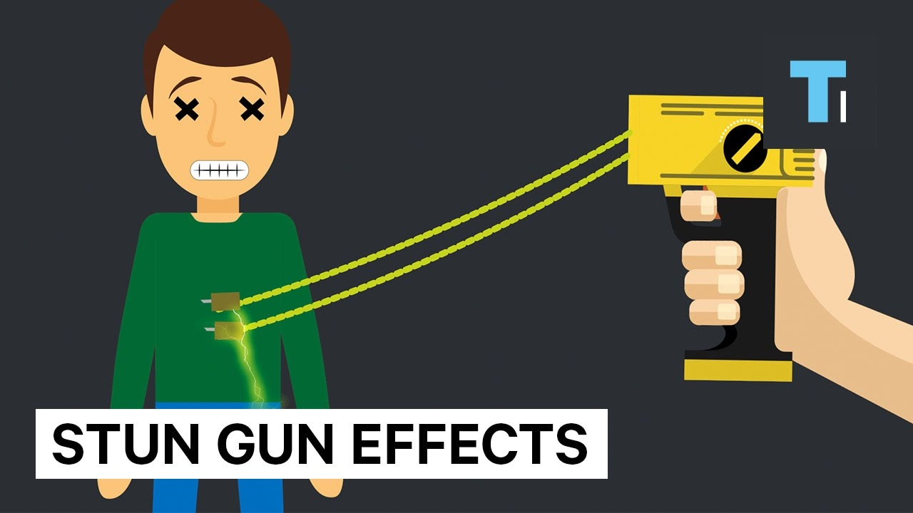 Here's how much damage a stun gun does to your brain and body