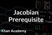 Jacobian prerequisite knowledge