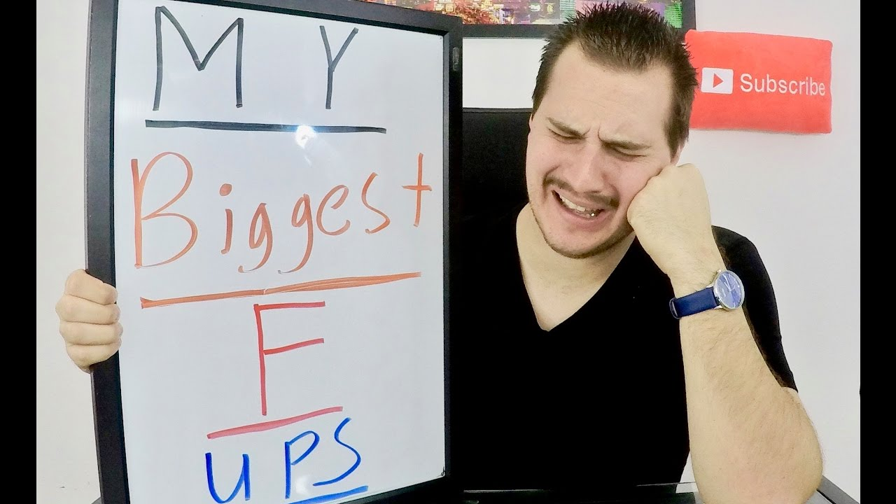 My 5 Biggest Financial Mistakes EVER!!!