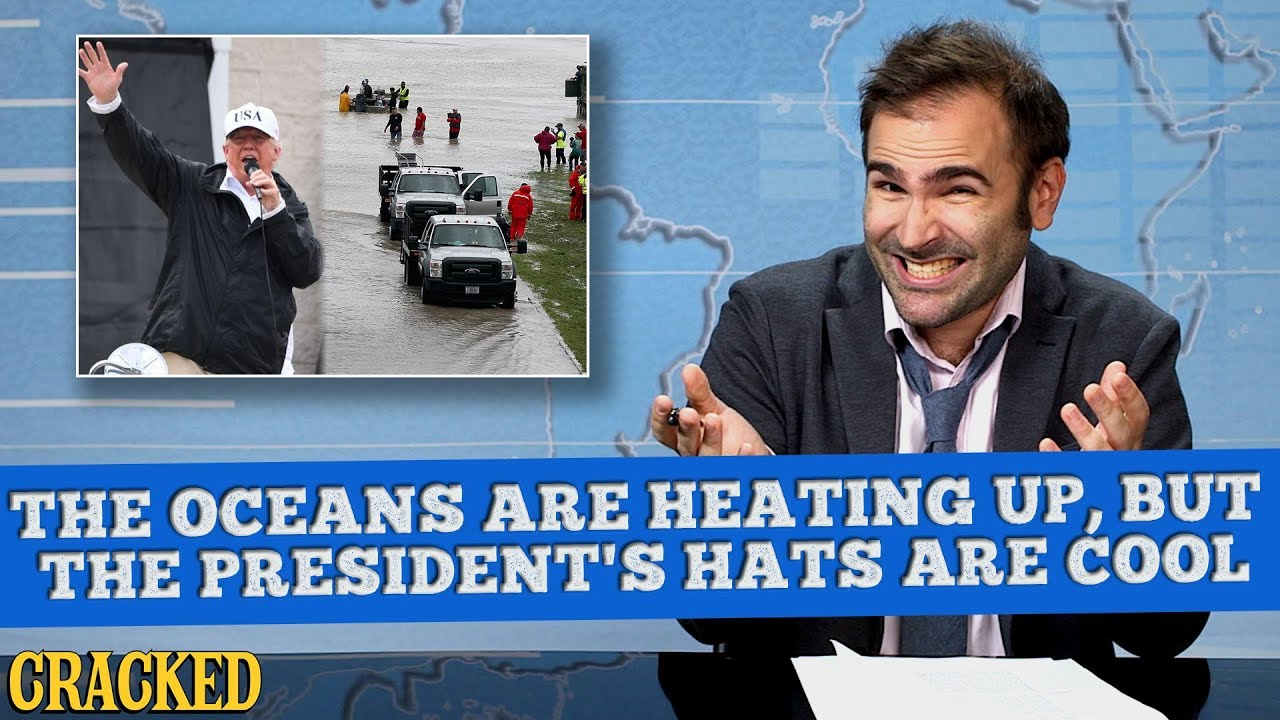 The Oceans Are Heating Up, But The President's Hats Are Cool - Some News