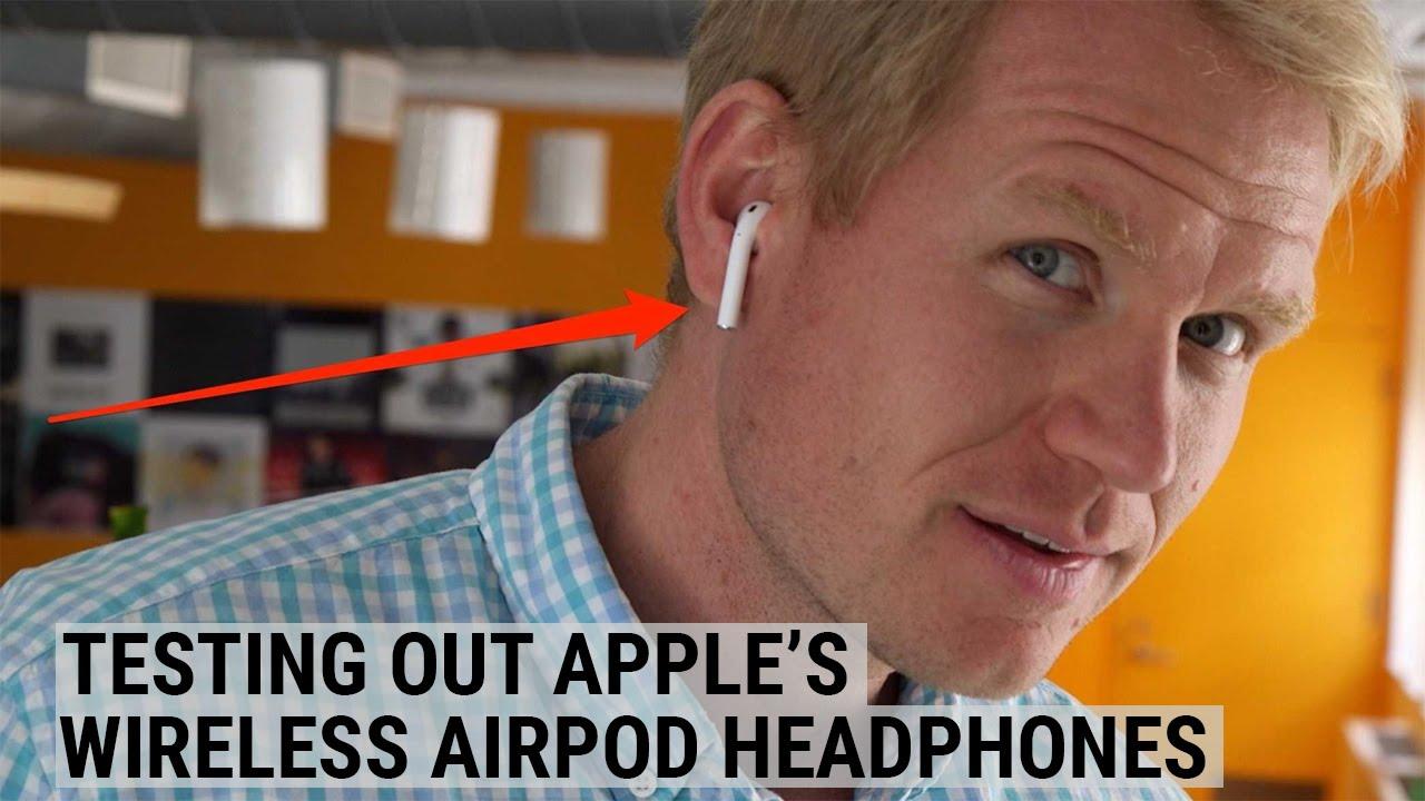 We Tried Apple's Wireless AirPod Headphones