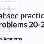 CAHSEE practice: Problems 20-22 | CAHSEE | Khan Academy