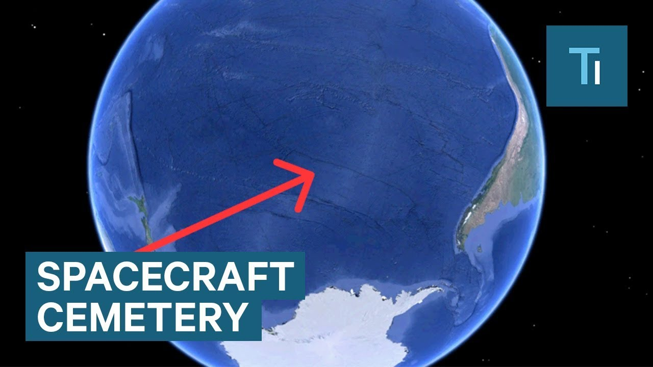 Here's Where Spacecrafts Go To Die