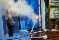 Ellen Quizzes Pharmacy Student with Messy Game