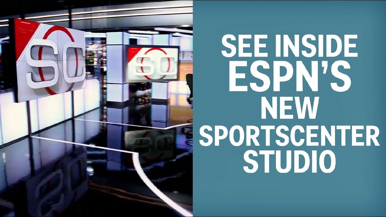 Tour ESPN's New SportsCenter Set