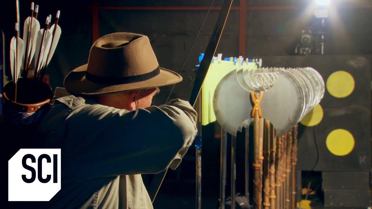 Does an Arrow Fly Straight? | MythBusters Jr.