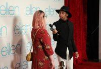 Kalen Interviews Ellen Fans on the Red Carpet