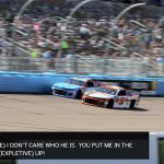 "Radioactive: Phoenix - ""Tell that (expletive) I don't care who he is."" 