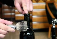 The Coolest Way To Open A Bottle Of Wine