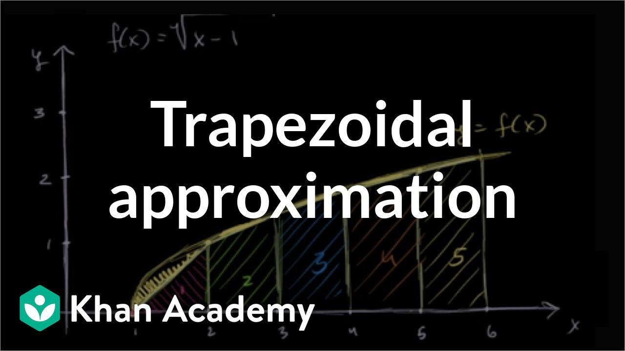 Trapezoidal sums   Accumulation and Riemann sums   AP Calculus AB   Khan Academy