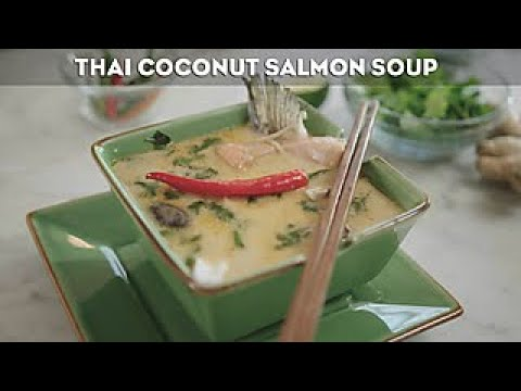 Andrew Zimmern's Thai Coconut Salmon Soup - Travel Channel