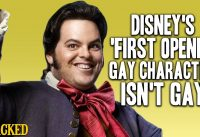 Disney's 'First Openly Gay Character' Isn't Gay - (Beauty and The Beast)