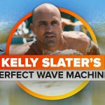 Kelly Slater's perfect wave machine in the middle of the desert