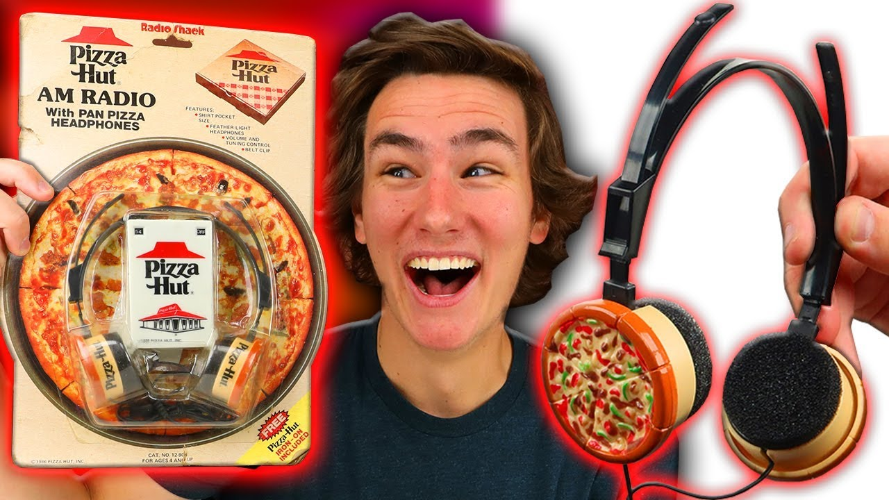 Pizza Hut Made Headphones?