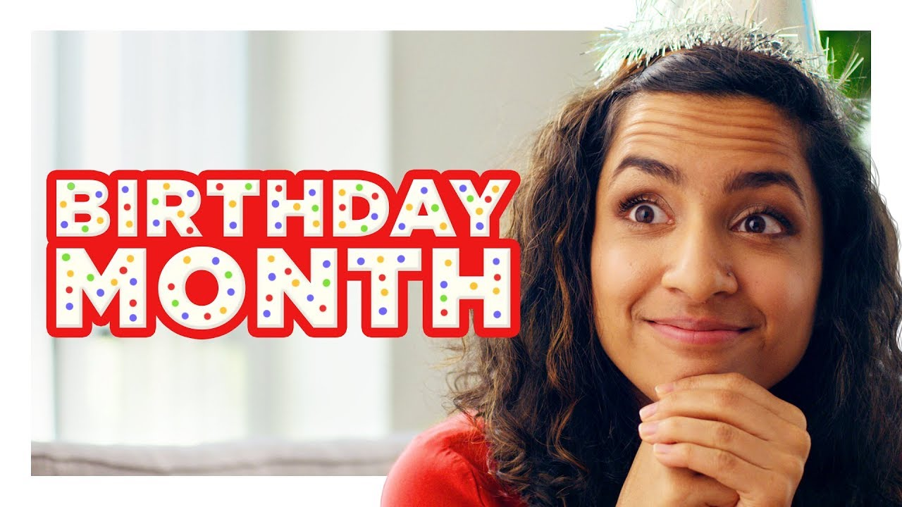 """The Girl With a """"Birthday Month"""""""