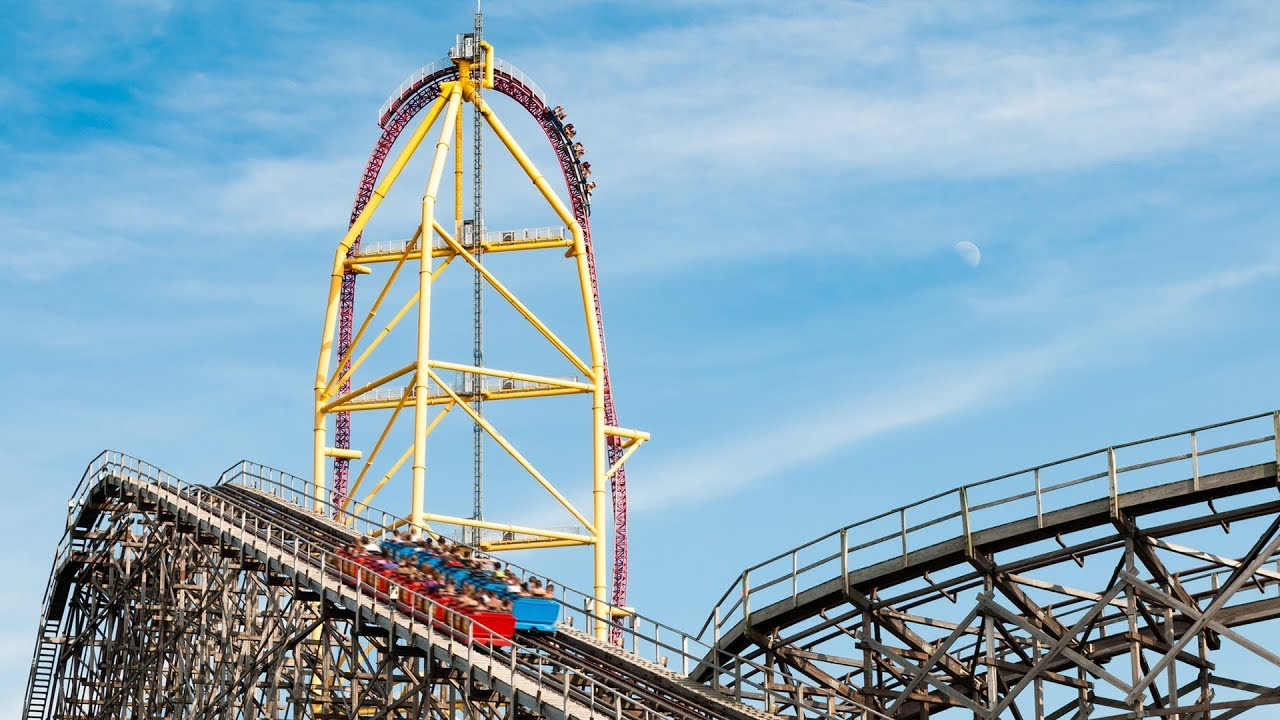 Top Thrill Dragster: Race Through the Sky at 120 MPH! - Travel Channel