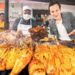 GOD LEVEL Street Food in Mexico 2.0   MONSTER BBQ Chicken + SUPER FAST Mexican ICE CREAM NINJA