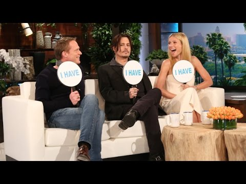 Never Have I Ever with Johnny Depp, Gwyneth Paltrow and Paul Bettany