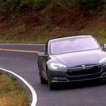 On the road: Tesla Model S P85+