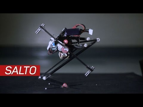 Salto: The cute jumping robot that opens the door for cyborg ninjas