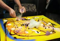 The best restaurant in America paints a dessert on your table — here's what it's likef