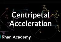 Visual understanding of centripetal acceleration formula | Physics | Khan Academy