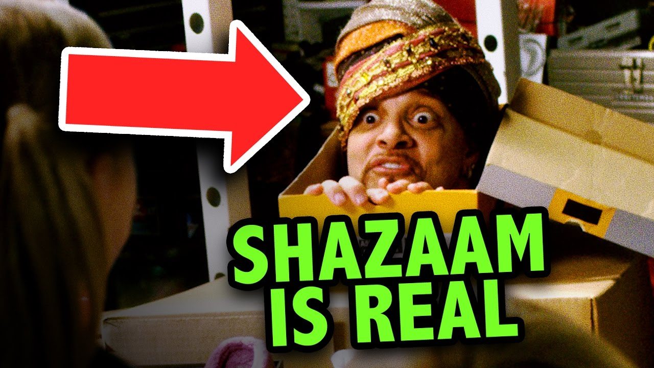 We Found Sinbad's SHAZAAM Genie Movie!