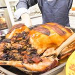 AMAZING CANADIAN FOOD | INSANELY HUGE Christmas Turkey DINNER FEAST and EGGS BREAKFAST in CANADA
