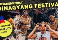 Foreigners experience DINAGYANG 2019 for first time in Iloilo City the Philippines
