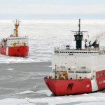 Here's How Massive Icebreaker Ships Plow Through Frozen Seas