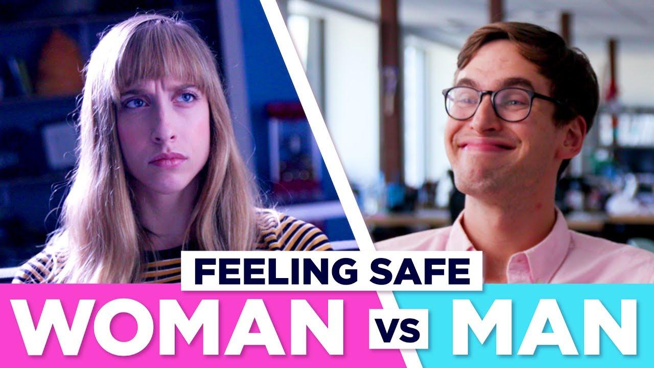 How Being In Public Feels: Men VS Women