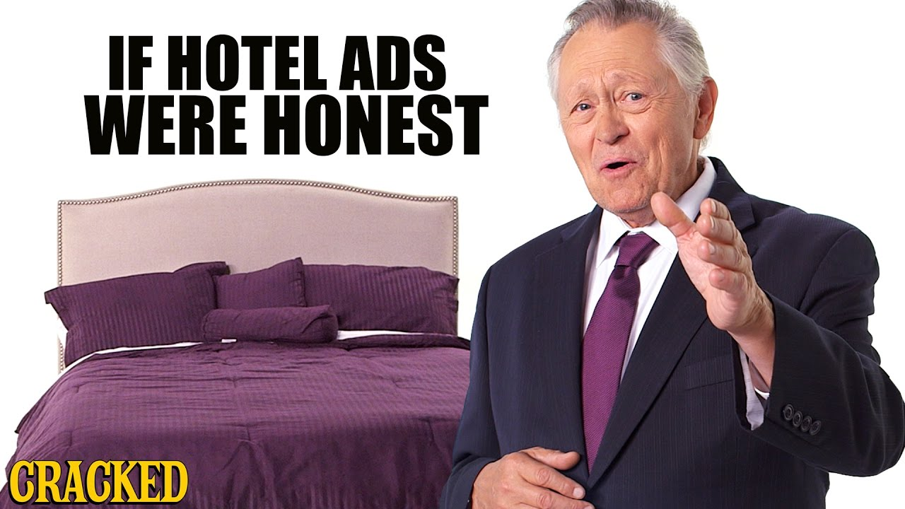 If Hotel Ads Were Honest - Honest Ads