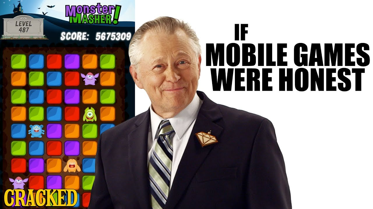 If Mobile Games Were Honest - Honest Ads (Android, iOS Parody)