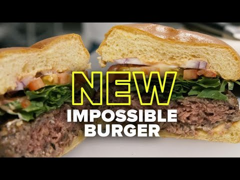 Impossible Burger now impossibly close to the real thing