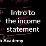 Introduction to the income statement   Stocks and bonds   Finance & Capital Markets   Khan Academy
