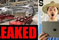 Leaked Tesla Photos Plus More Tesla & Elon Musk News