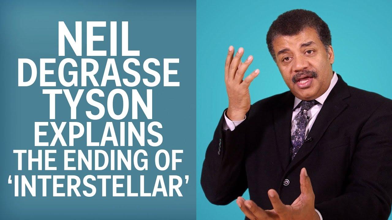 Neil deGrasse Tyson Explains The End Of 'Interstellar'