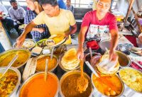 INDIAN STREET FOOD of YOUR DREAMS in Kolkata, India   ENTER CURRY HEAVEN + BEST STREET FOOD in India