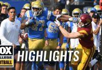 USC vs. UCLA | FOX COLLEGE FOOTBALL HIGHLIGHTS