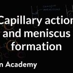 Capillary action and why we see a meniscus | Chemistry | Khan Academy
